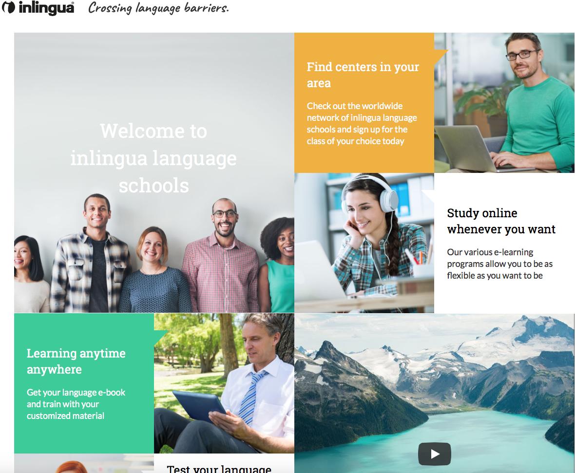 Webseiten Texte - Contentmaker for inlingua